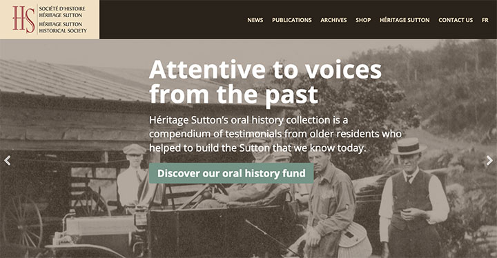 Héritage Sutton New Website